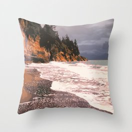 Juan de Fuca Provincial Park Throw Pillow