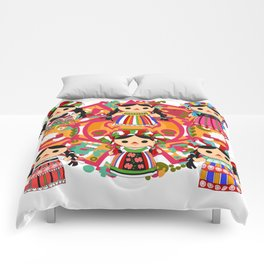 Mexican Dolls Comforters