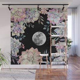 succulent full moon 4 Wall Mural