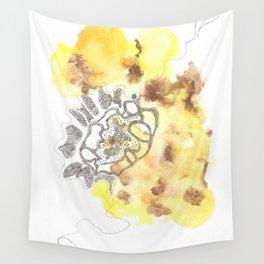 Scandi Micron Art Design | 170412 Telomere Healing 28 Wall Tapestry