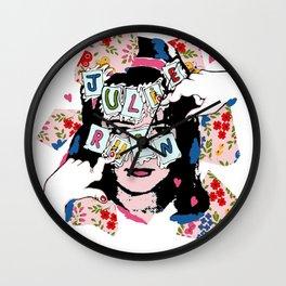JuLiE RuiN!!! Wall Clock