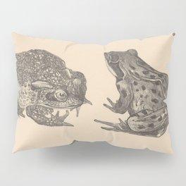 Naturalist Frogs Pillow Sham