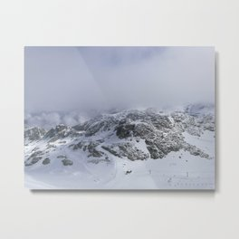 Mountains in June Metal Print