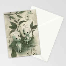 Natural Histories - Forest Spirit studies Stationery Cards