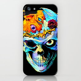 Dead Skull iPhone Case