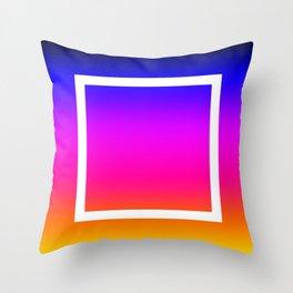White Box Throw Pillow