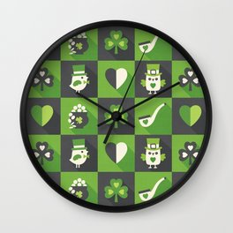 IRISH EYES ARE SMILING Wall Clock