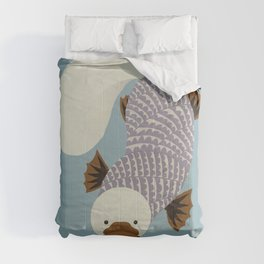 Whimsical Platypus Comforters