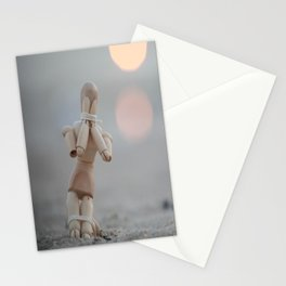 the beggar  Stationery Cards