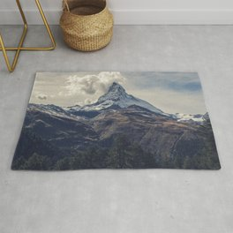 Distant Mountain Peak Rug