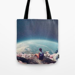 My World Blossomed when I Loved You Tote Bag