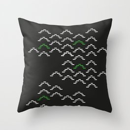 Aliens are coming - part II Throw Pillow