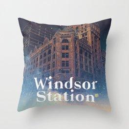 Windsor Station Throw Pillow