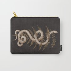 The Snake and Fern Carry-All Pouch