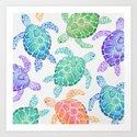 Sea Turtle - Colour by ellenshawdesign