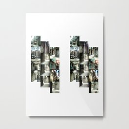 columns assembled rowishly agape Metal Print