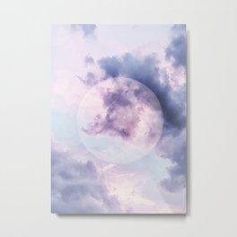 Mistic Moon Metal Print