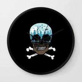 Death City Wall Clock