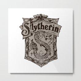 slytherine Metal Print