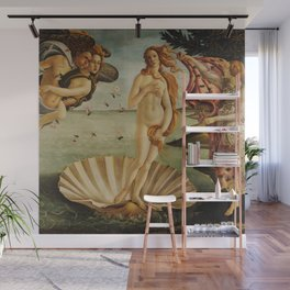 The Birth of Venus by Sandro Botticelli Wall Mural