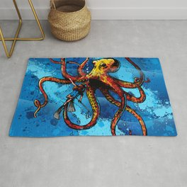 Octopus from the Deep Rug