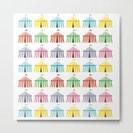 colourful circus tents Metal Print