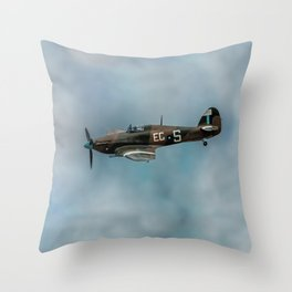 The Last of the Many Throw Pillow