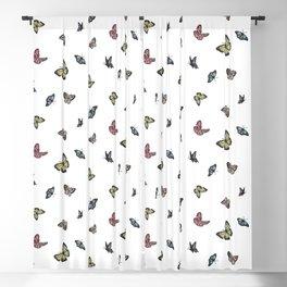 Watercolor Butterflies Blackout Curtain
