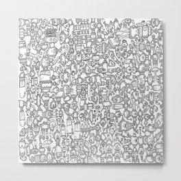 Find the Aquarium Metal Print