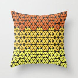 Ultraviolence Orange Throw Pillow