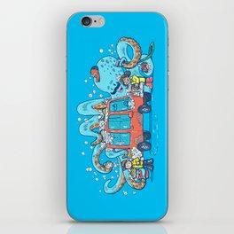 Octopus Carwash iPhone Skin