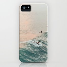 summer waves iv iPhone Case