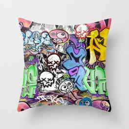 Graffiti is art. Throw Pillow