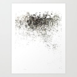 The Graze Art Print