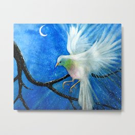 Night Bird Metal Print