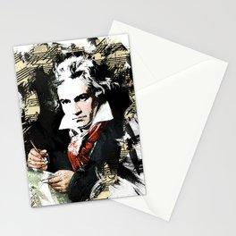 Ludwig van Beethoven Stationery Cards