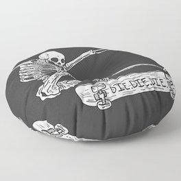 Cool Skeleton Floor Pillow