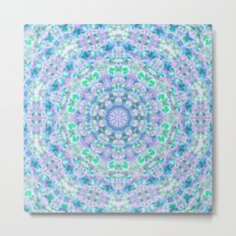 Colour Aquatica Kaleido I Metal Print