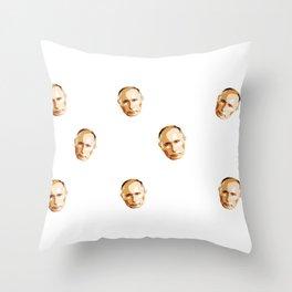 Parody,funny Christmas Putin gift idea  Throw Pillow