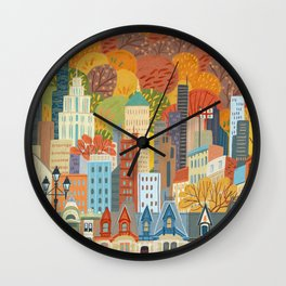 Montréal Wall Clock