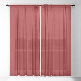 Red II Sheer Curtain