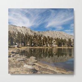 Heart Lake Metal Print