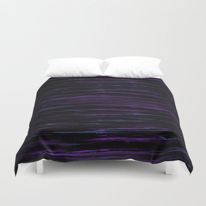 Neon Nights Duvet Cover