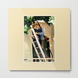 WE SAVE EACH OTHER Metal Print