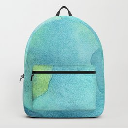 Abstract Blue Ocean Waves  Backpack