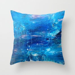 La Mer Enchantée Throw Pillow