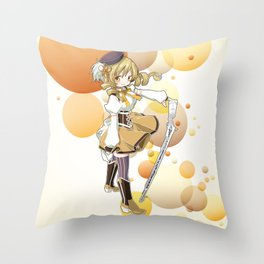 Mami Tomoe Throw Pillow