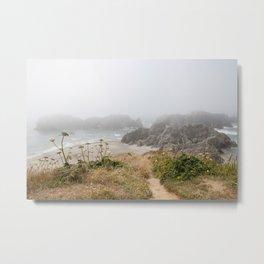 Bandon Beach Metal Print