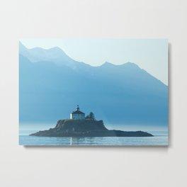 Eldred Rock Lighthouse - 1 Metal Print