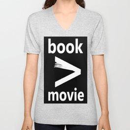 book > movie Unisex V-Neck